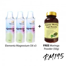 Elementz Virgin Magnesium Oil x3